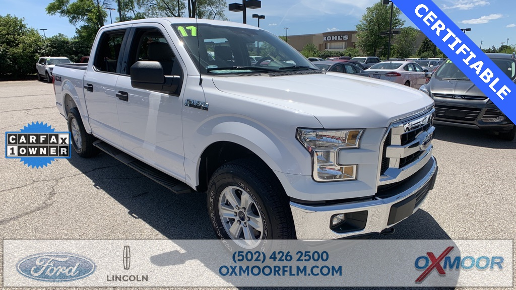 Certified Pre Owned 2017 Ford F 150 Xlt